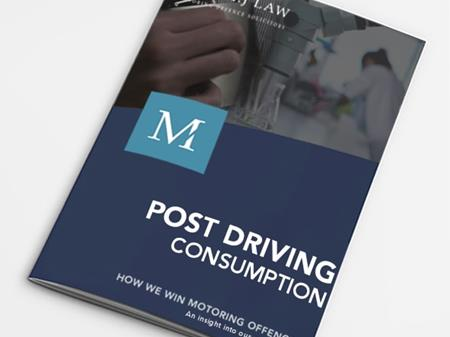 The 'Hip Flask' Defence – Post Driving Consumption