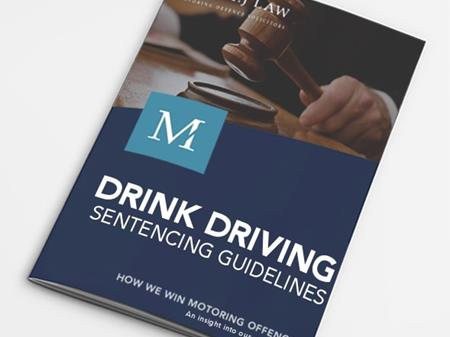 Drink Driving Sentencing Guidelines